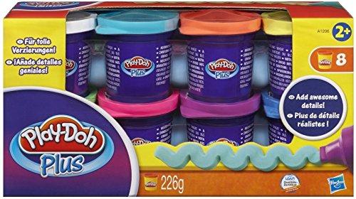 Play-Doh A1206EU4 Hasbro A1206EU4-Plus 8er Pack, Knete