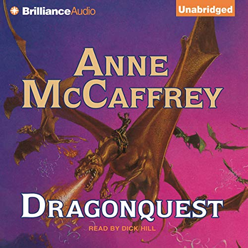 Dragonquest: Dragonriders of Pern audiobook cover art
