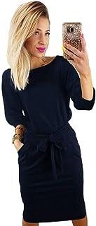sale retailer 6d837 f1a60 Amazon.it: Vestiti primaverili - Blu / Donna: Abbigliamento