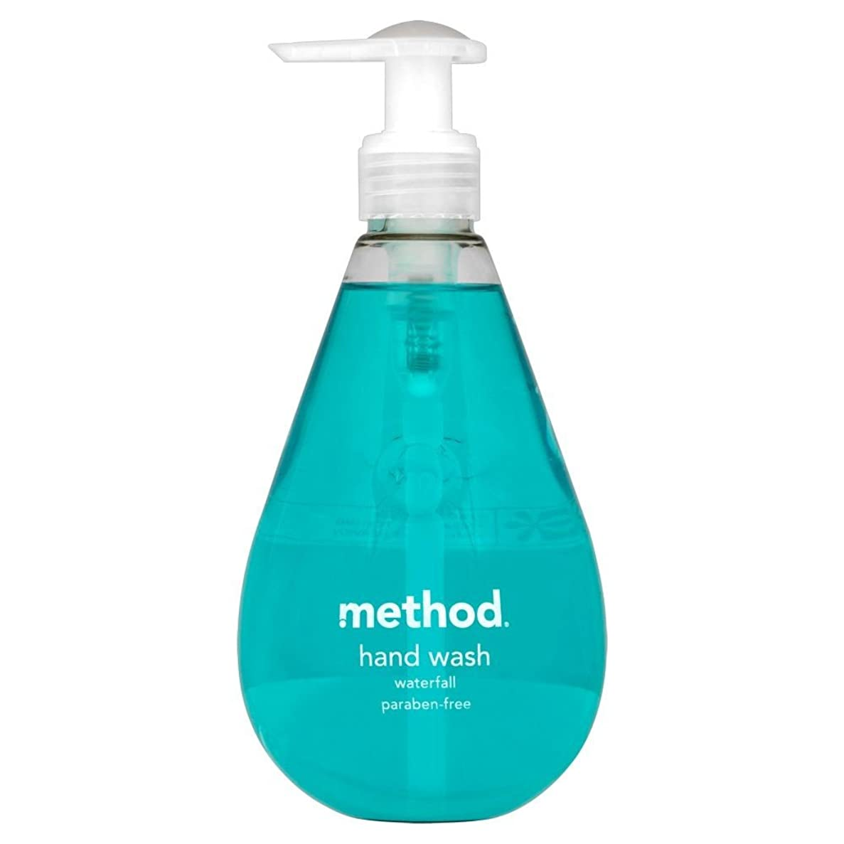 称賛病気だと思う故障Method Hand Wash Waterfall (354ml) メソッドのハンドウォッシュ滝( 354ミリリットル) [並行輸入品]
