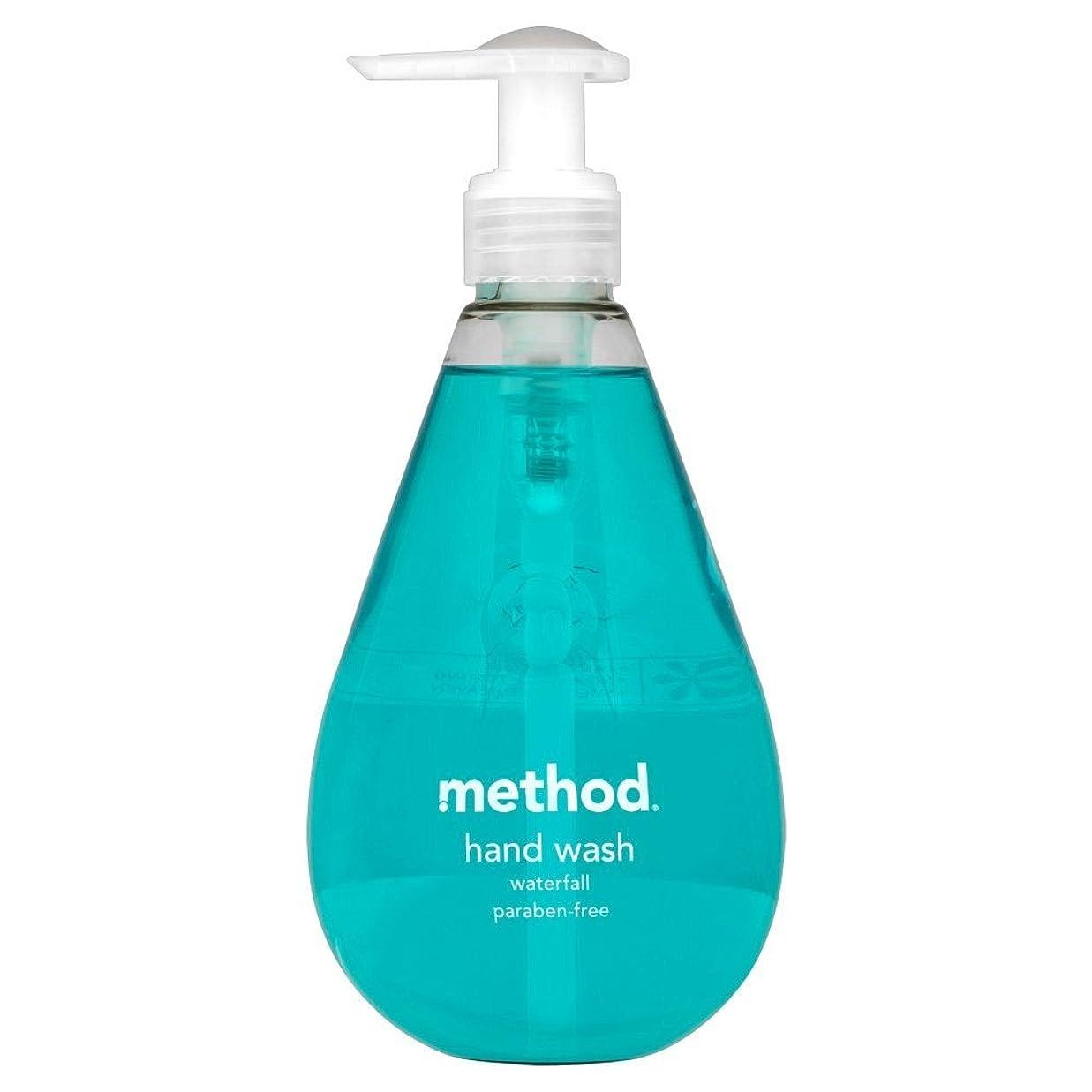 悲劇小競り合い改修Method Hand Wash Waterfall (354ml) メソッドのハンドウォッシュ滝( 354ミリリットル) [並行輸入品]