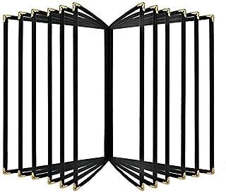 Classeurs Dossier Bureau Boutique Retourner la Page Dossier A4 Poster Flip Book Recto-Verso 32X23CM d'affichage UOMUN (Siz...