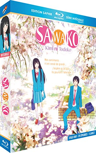 Sawako (Kimi ni Todoke) -Intégrale Saison 1 [3 Blu-Ray] + Livret [Édition Saphir]