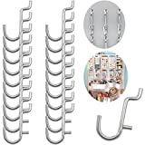 Calax Metal Pegboard Hook J Style for Peg Board Tool Organizer 100 Pieces...