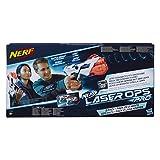 Nerf Laser Ops Pro - Pack 2 Lanzadores (Hasbro E2281EU4) , color/modelo surtido