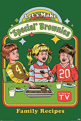 Close Up Steven Rhodes Poster Let's Make Special Brownies (61cm x 91,5cm) + Ü-Poster