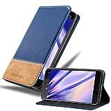 Cadorabo Funda Libro para HTC U Ultra en Azul MARRÓN - Cubierta Proteccíon con Cierre Magnético, Tarjetero y Función de Suporte - Etui Case Cover Carcasa