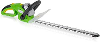 SereneLife Home & Garden Cordless Hedge Trimmer - Electric Trimming Hedger, 18V Rechargeable Battery, for Trees, Shrubs, Plants, Bushes (PSLHTM36)