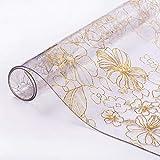 Protector de mesa transparente de 2 mm + borde biselado, protector de mesa, tamaño a elegir, 70 cm x 140 cm