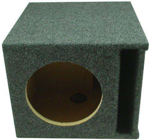 "Car Audio Single 8"" SPL Bass Subwoofer Labyrinth Vent Sub Box Stereo Enclosure"