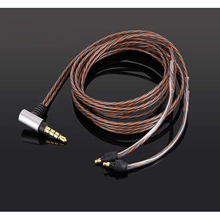 PCCITY IE40 pro 交換用 ヘッドフォン ケーブル 2.5MM 4極 バランス リケーブル アップグレード ケーブル(2.5MM バランス)