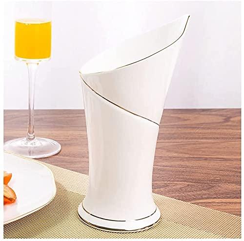 SYNAAN Scandinavian draining chopsticks bucket Utensil holder Plate holder Bone china utensil cage for home use