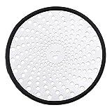 OTOTEC - Protezione per lo scarico della doccia, in acciaio INOX 304, 11 cm, per lavello da cucina, bagno, vasca da bagno, scarico lavanderia