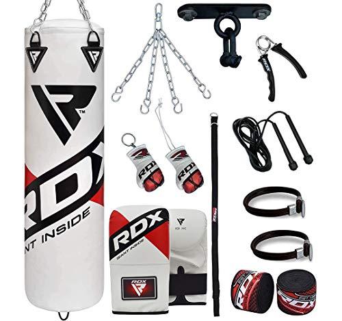 RDX Saco Boxeo Relleno MMA Muay Thai Kick Boxing