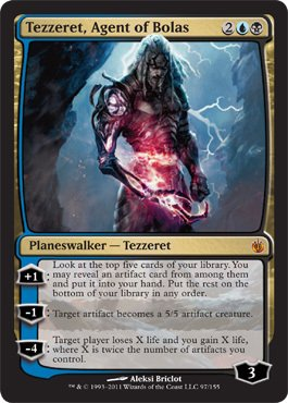Magic: the Gathering - Tezzeret, Agent of Bolas - Mirrodin Besieged - Foil