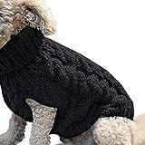 futureyun Ropa para cachorros para perros y mascotas, sudadera con capucha para cachorro, otoño e invierno
