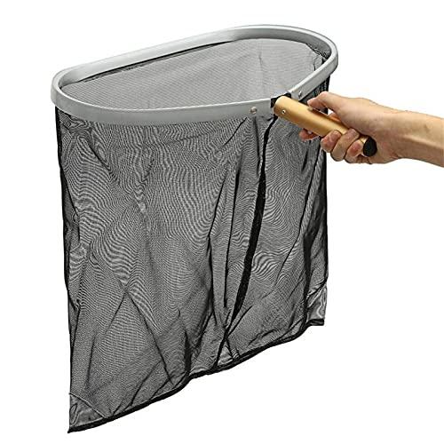 HIOD Práctico para el Hogar Rastrillo de Hojas de Alta Resistencia Marco de Malla Limpiador de Red Skimmer Limpiador de Piscina Herramienta de SPA Herramientas de Limpieza de Piscina