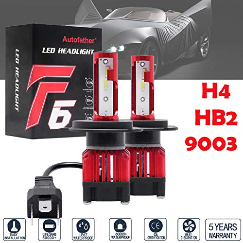 4Pcs Headlights 4x6 Inch LED Headlights for GMC C4500 W3500 Isuzu NPR-HD NQR 150W Super Bright Hi-Low Sealed Beam w/Angel Eyes DRL H4651 H4652 H4666 Headlamp w/Breathable Cap to Avoid Water Mist