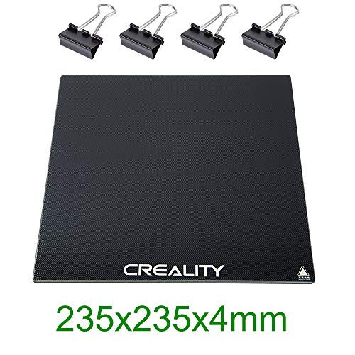 Upgraded Creality 3D Printer Platforms, ENDER 3 Glass Bed, Tempered Glass Heated Bed Glass Plate...