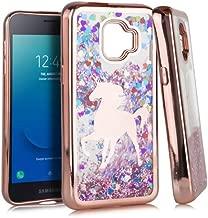 HJ Power[TM] CGCM- Hybrid Case is Compatible with Samsung Galaxy J2 (2019) / J2 Core / J2 Dash / J2 Pure (Unlocked)- -Unicorn Rose Gold