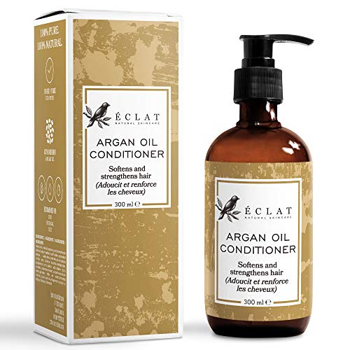 Acondicionador Aceite Argán Orgánico Eclat – Acondicionador Aceite Argán Natural con...