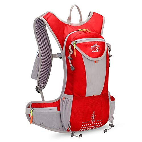 CMZ Backpack Cross-Country Running Backpack 15L Outdoor Running Bag Light Weight Without Shaking Water Bag 2L Marathon