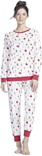 BedHead Womens Long Sleeve Pullover Jogger Pajama Set