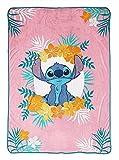 Jay Franco & Sons Lilo and Stitch 62' X 90' Plush Blanket
