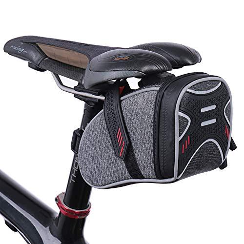 ONLY ME Bike Seat Bag, Fahrrad-Satteltaschen Pannier Storage Bag Mountain Road MTB Bicycle Bike Seat Bag