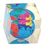 GOLD LEAF Paper Weight 88 World Globe