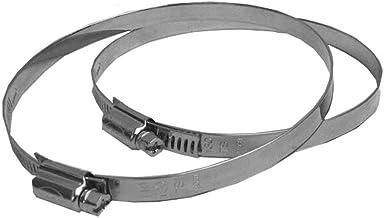 Upmann 66502 Slangklemmen sv DN 125 mm (per paar)