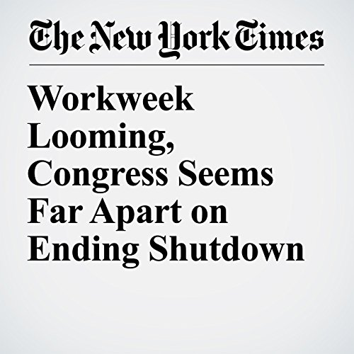 Workweek Looming, Congress Seems Far Apart on Ending Shutdown copertina