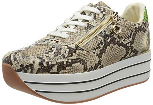 s.Oliver Damen 5-5-23641-34 Sneaker, Mehrfarbig (Multicol Snake 992), 40 EU