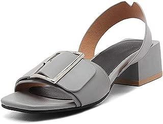 BalaMasa Womens AFL00281 Pu Heeled Sandals