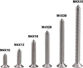 M2.3 * 5 * 6 Tornillos Autorroscantes de Metal Cabeza Redonda Transversal Tornillos Madera 100 Piezas 100 Piezas BOZEVON Tornillos de Acero Inoxidable