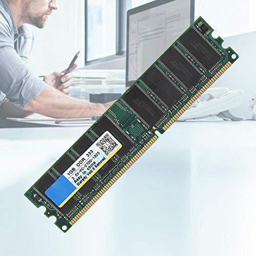 Socobeta 1G DDR-Speicher Praktisch Stabiler Desktop-RAM DDR-Speicher 2,5 V 184Pin Desktop-Speicher für Desktop für Computer