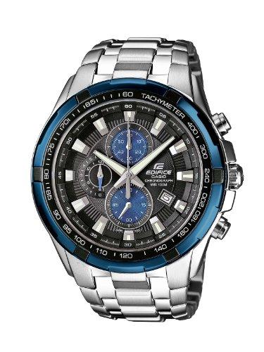 Casio Edifice Herren Massives Edelstahlgehäuse und-Armband Uhrenarmband EF-539D-1A2VEF