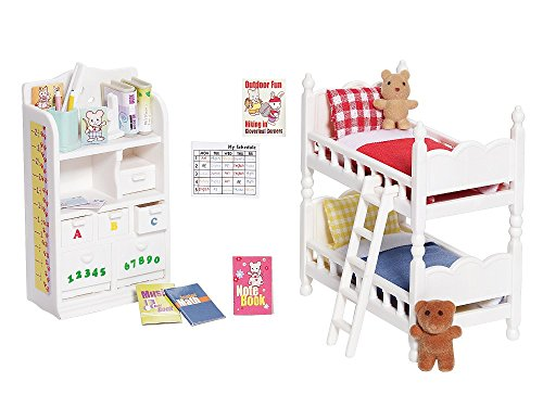 Calico Critters Deluxe Children's Bedroom Set