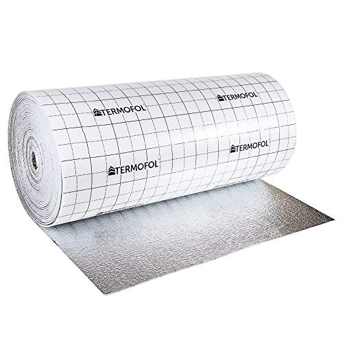 Reflective Aluminium Foam Insulation - 3mm or 5mm Thick, 100cm Wide -...
