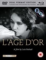 An Andalusian Dog / Age of Gold (Un chien andalou / L'Age D'or) [Blu-ray]