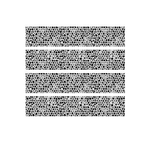 JRTILES tegelstickers 20X20Cm X 20 stuks - tegelstickers - plakfolie tegelstickers - badkamer en keuken stickertegels decoratie - kopsteenpleister De simulatie