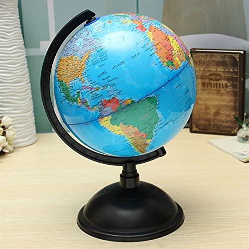 MAPA WSF, 1 unid 20 cm Mapa del mundo Bola de espuma Atlas Globe Globe Inglés Bola Planeta Tierra Tierra Juguetes para niños Niñas Geografía Geografía Suministros educativos