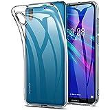 Verco Handyhülle für Huawei Y5 2019 Hülle, Handy Cover für Y5 (2019) Hülle Transparent Dünn Klar Silikon, durchsichtig