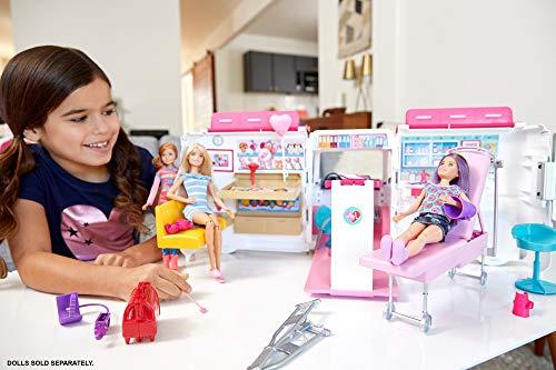 Ambulance de Secours Clinique Soins Médical Barbie - 20