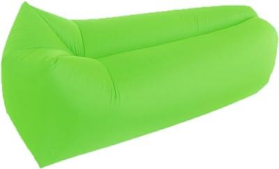 Amazon.com: TZZ sofá inflable arena Lazy Portátil Saco de ...