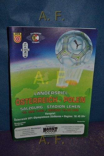 Österreich-Polen, Länderspiel, Salzburg-Stadion Lehen, 19. Mai 1992, 19 Uhr.