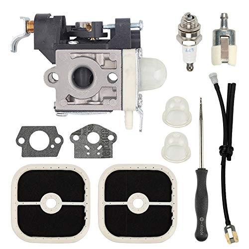 Wellsking PB-251 RB-K85 Carburetor for Echo A021001350 A021001351 PB-265L PB265L PB-265LN with Repower Maintenance Kit Gaskets Spark Plug Air Filter