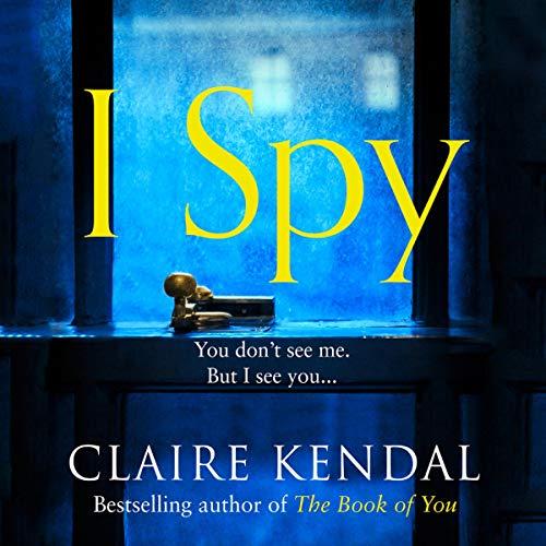 I Spy audiobook cover art