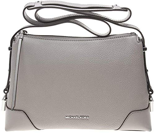 "1 interior zip pocket & 1 slip pocket Silver-tone exterior hardware Zip closure 19-1/2""L strap 11-3/4""W x 8""H x 4""D (width is measured across the bottom of handbag)"
