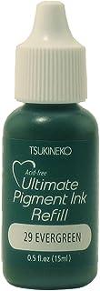 Tsukineko 1/2 Fluid Ounce VersaColor Ultimate Pigment Inker, Evergreen